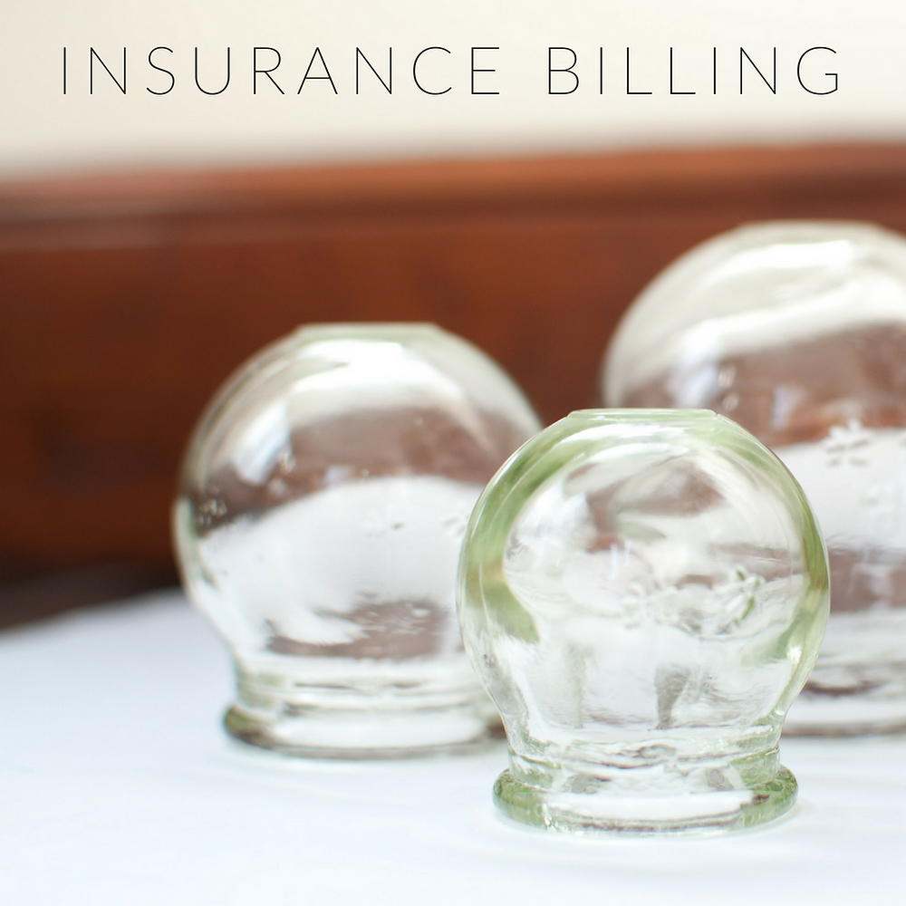 Insurance billing for acupuncture
