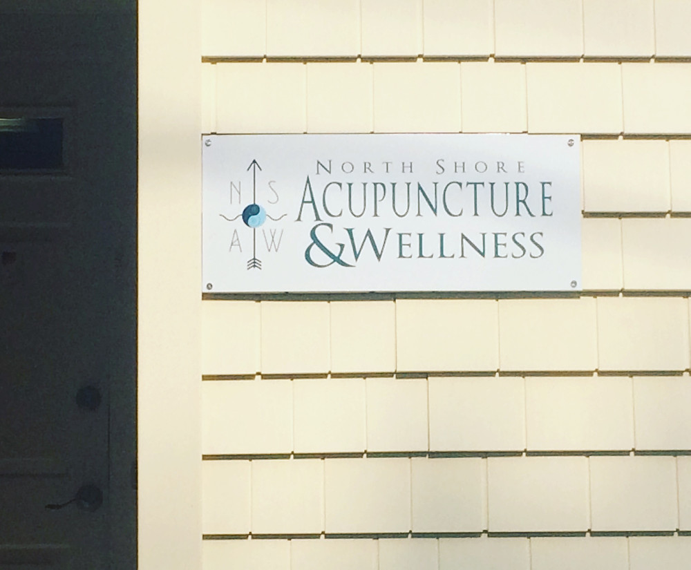 New acupuncture sign in Amesbury!