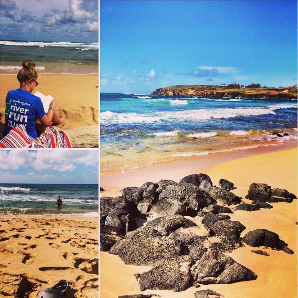 Your local acupuncturist unplugged and relaxing in Hawaii!