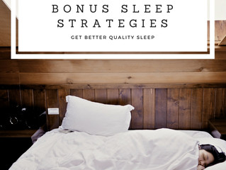 BONUS Sleep Strategies