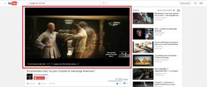 YouTube - Début du visionnement