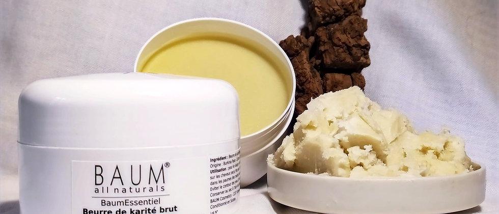 Beurre de karité pur, naturel, 200 ml,corps, cheveux