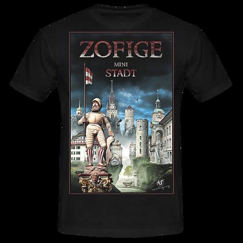 Bedrucktes Herren-T-Shirt mit dem Zofiger Design
