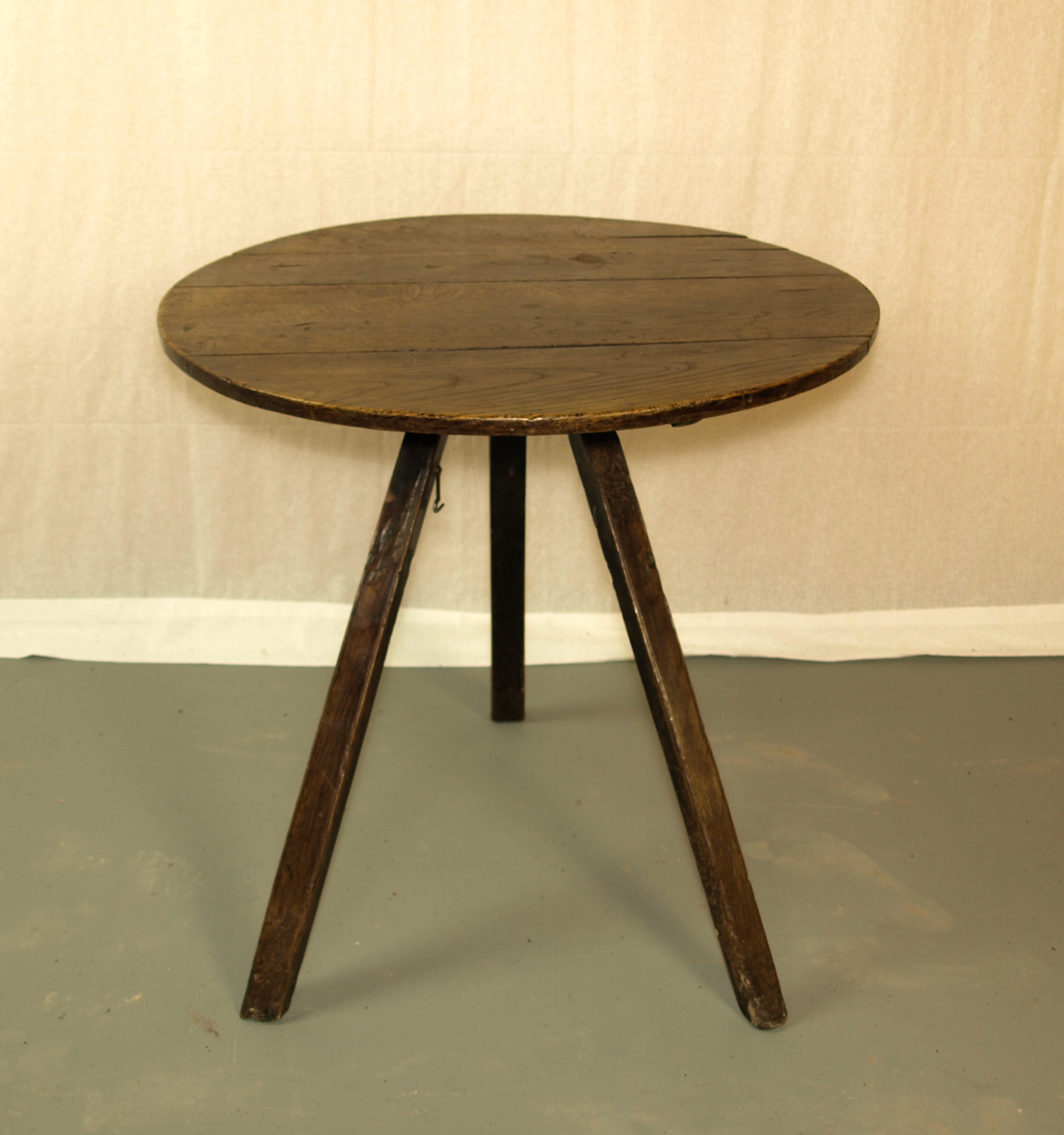RARE OAK CRICKET TABLE