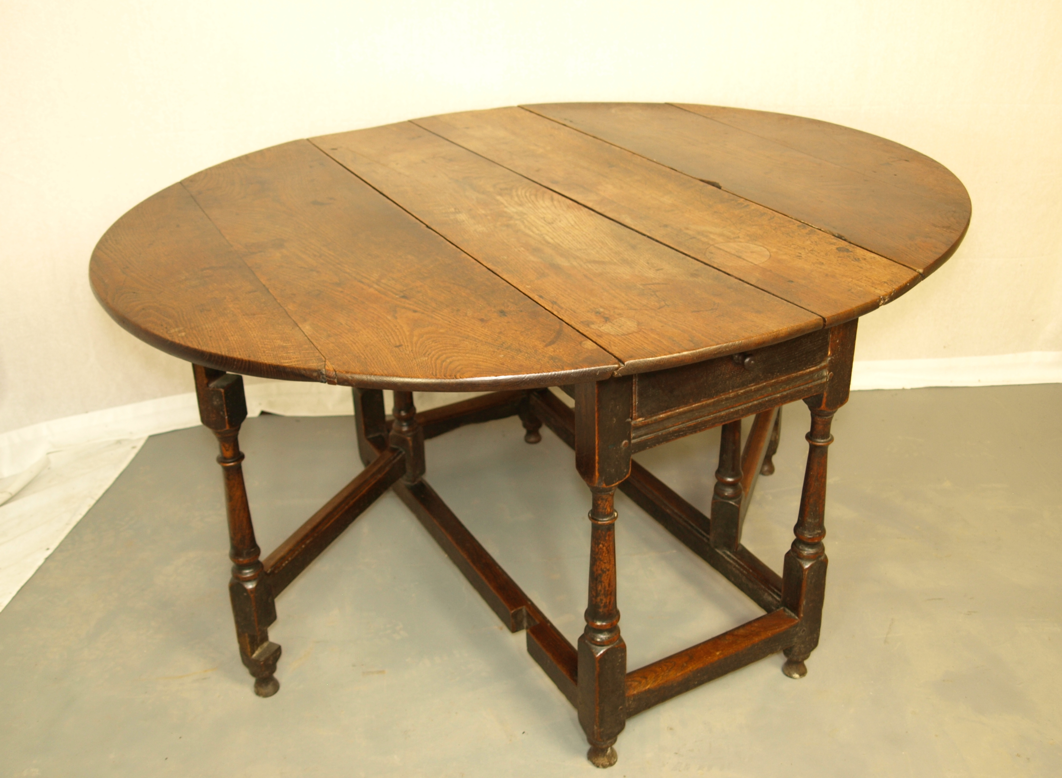 OAK GATELEG TABLE