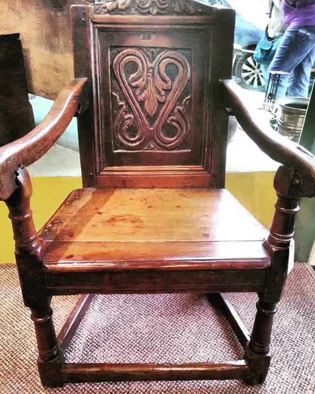 Oak Wainscott chair