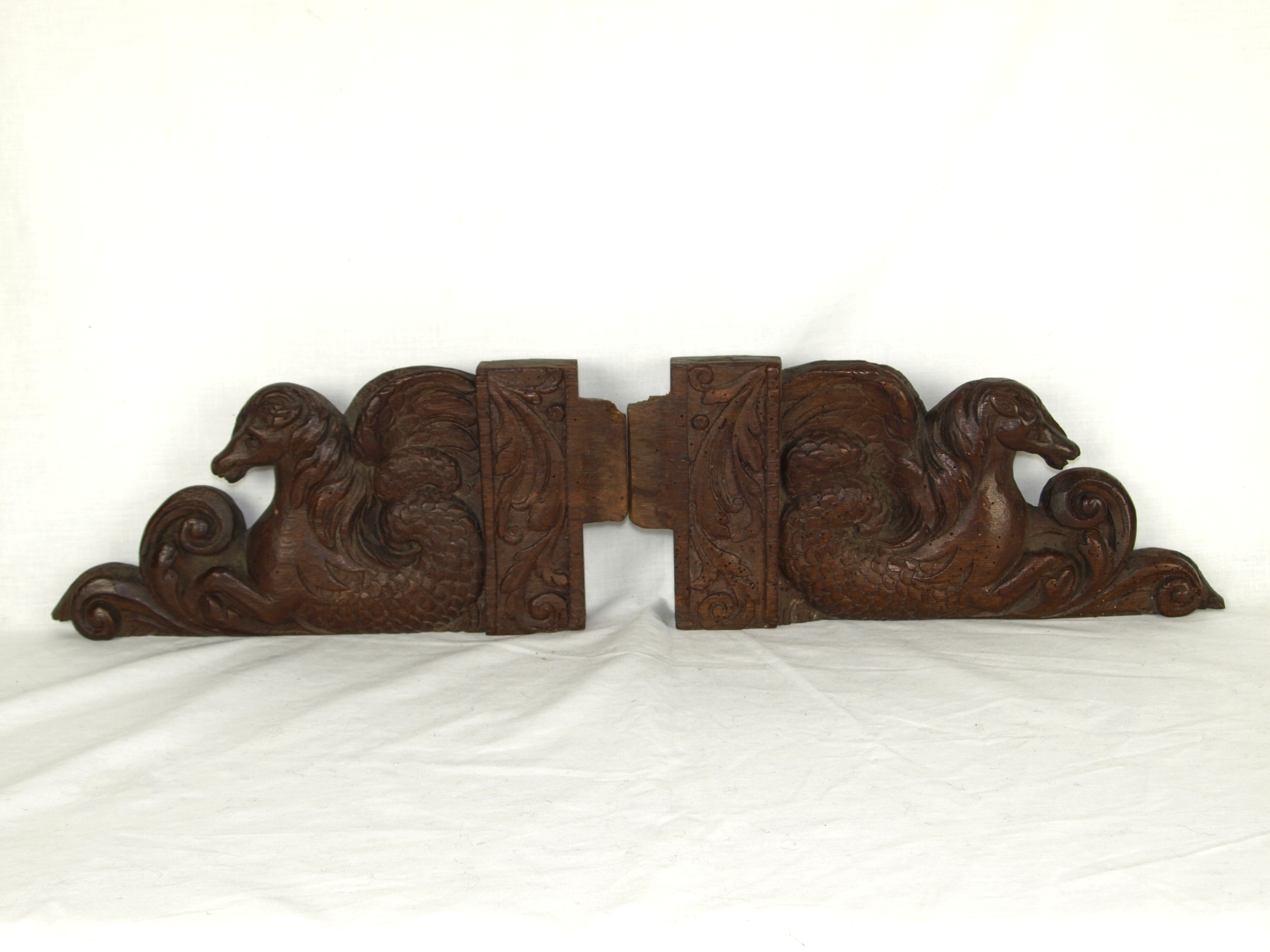 TESTER BED CARVINGS