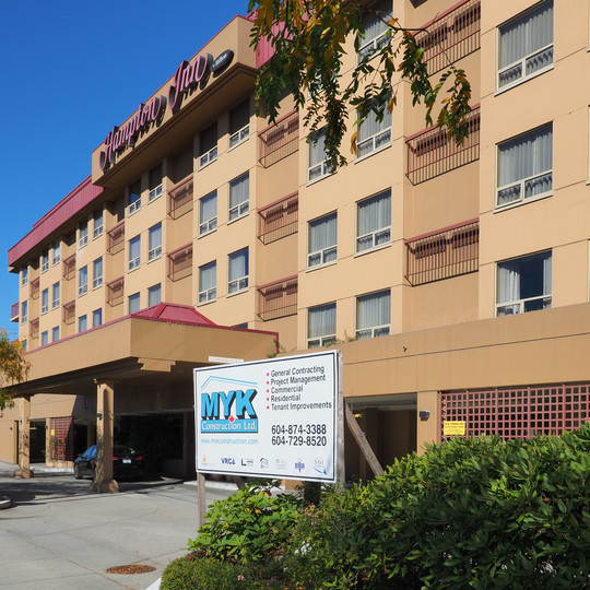Hampton INN Hotel Renovation