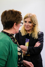 Women in Media & The Arts Breakfast Sally Abbot & Michelle Collins