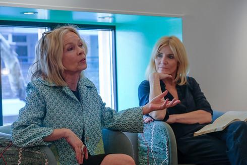 Women in Media & The Arts Breakfast Jo Good & Michelle Collins