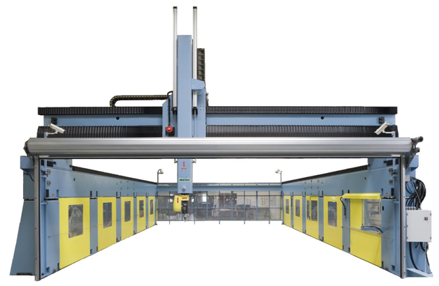 The large format CNC machine made by Multiax. Image via 3D Hybrid Solutions.