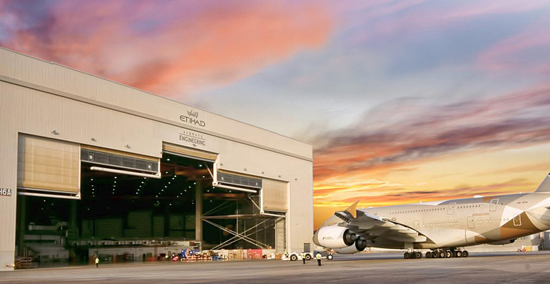 Etihad Airways Engineering claims to be the largest aircraft maintenance repair and overhaul services provider in the Middle East.