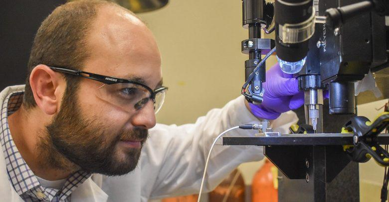WSU glucose monitoring biosensor