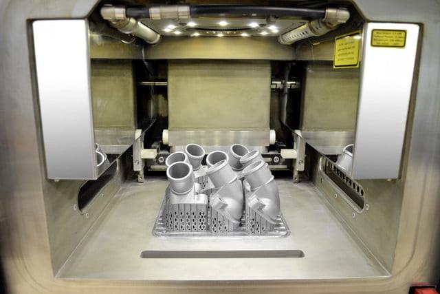 Daimler 3D-printed truck parts