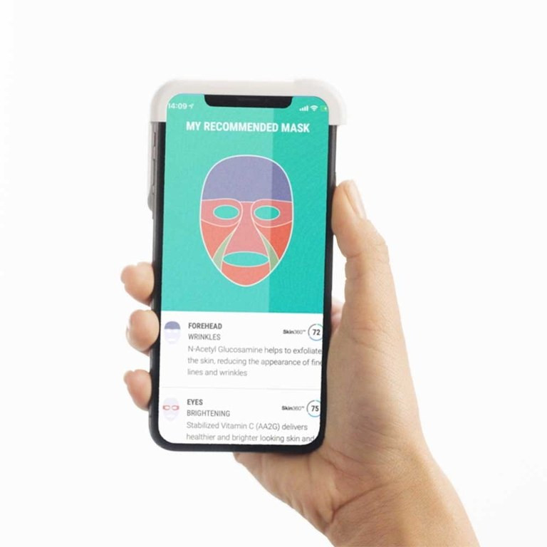 The MaskiD app. Photo via Neutrogena.