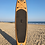 """Thumbnail: 10'6"""" Surf Shack Wood Inflatable Stand Up Paddle Board Set"""