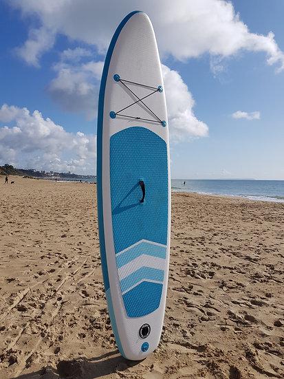 10' Shack Blue Stand Up Paddle Board Set