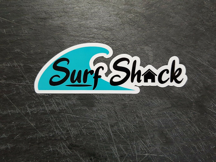 Surf Shack Sticker