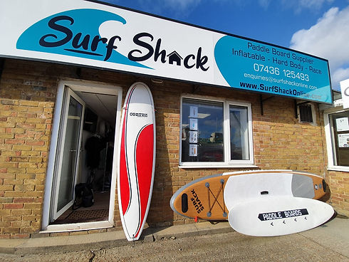 Surf Shack Shop Front Exterior