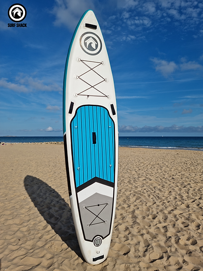 """11'6"""" Surf Shack Oceania Inflatable Stand Up Paddle Board Set"""
