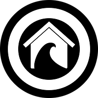 Surf Shack Circle Logo