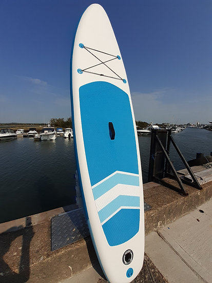10' Shack Blue Stand Up Paddle Board Set