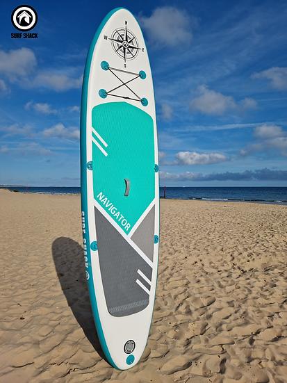 11' Surf Shack Navigator Inflatable Stand Up Paddle Board Set