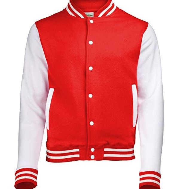 Pearl Davies Client Wardrobe - Lettermans Jacket, Red