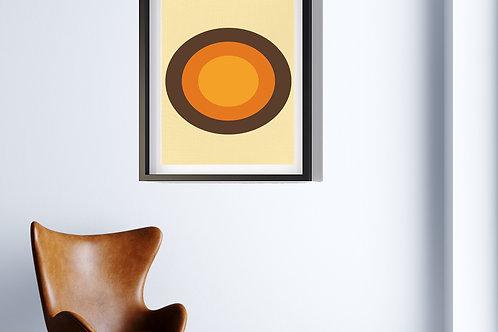 70's Swag Series Print: Bullseye