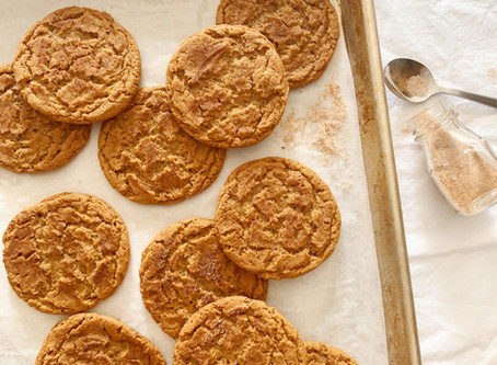 Supper Club Recipe with Lulu Bliss: Grannies Ginger Snaps