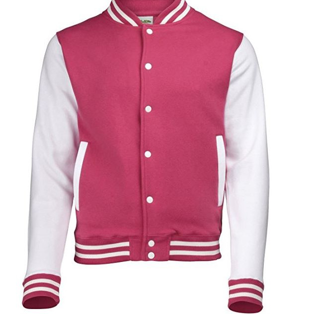 Pearl Davies Client Wardrobe - Lettermans Jacket, Pink