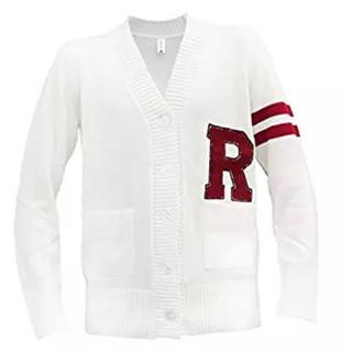 Pearl Davies Wardrobe Mens 1950s R Letterman Cardigan Sweater