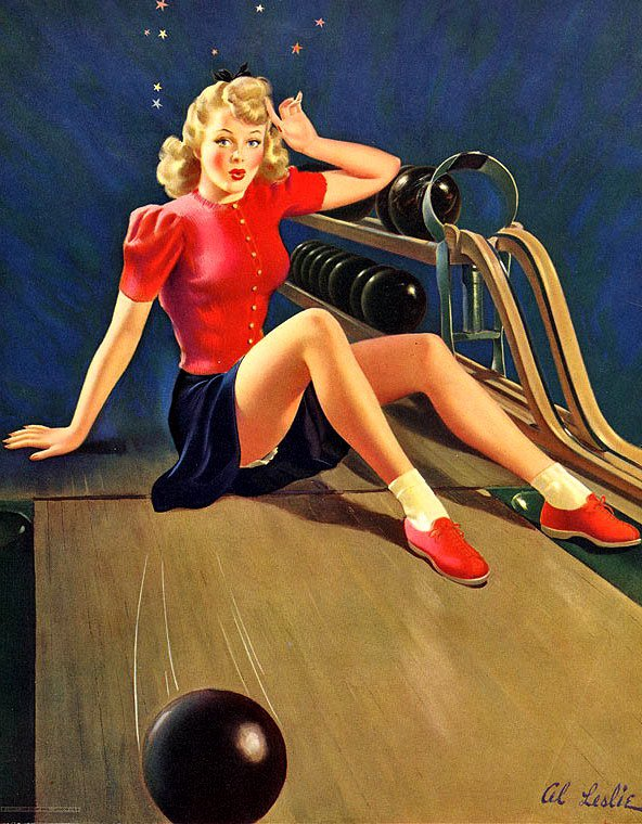 Alfred Leslie Buell Pinup Artist - Pearl Davies Media 4