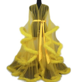 Pearl Davies Client Wardrobe: Custom Gown in Yellow Long
