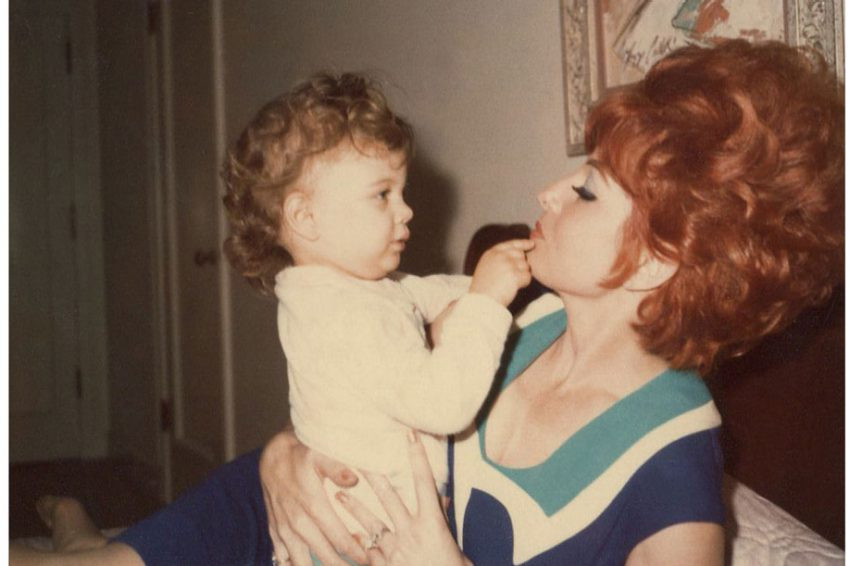 Tempest Storm with daughter Patti