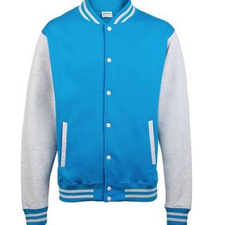 Pearl Davies Client Wardrobe - Lettermans Jacket, Light Blue