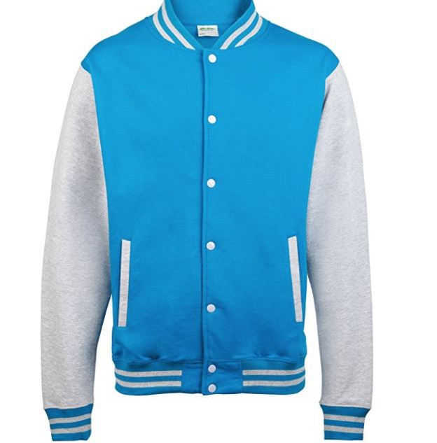 Pearl Davies Client Wardrobe - Lettermans Jacket, Light Blue