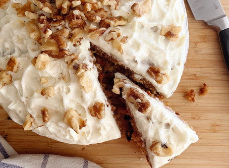Supper Club Recipe with Lulu Bliss: Classic Carrot Cake