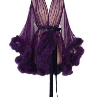 Pearl Davies Cient Wardrobe: Custom Gown in Purple