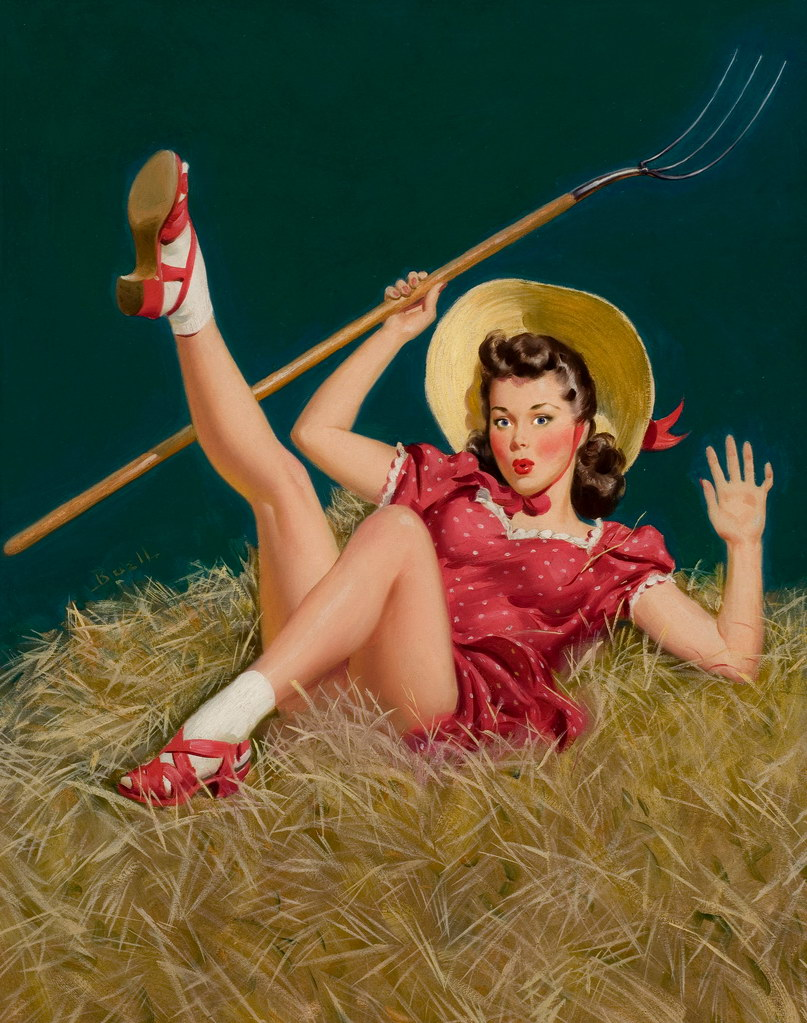 Alfred Leslie Buell Pinup Artist - Pearl Davies Media 3