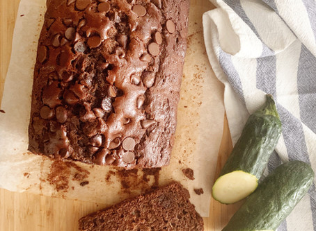 Supper Club Recipe with Lulu Bliss: Chocolate Zucchini Bread