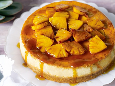 Supper Club Recipe: Pineapple Cheesecake