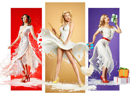 Milky Pinups: Aurum Light Studio