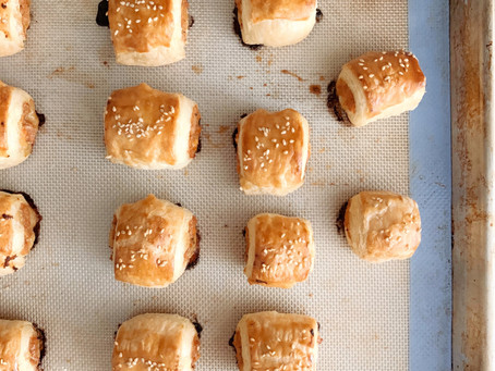 Supper Club Recipe with Lulu Bliss: Homemade Sausage Rolls