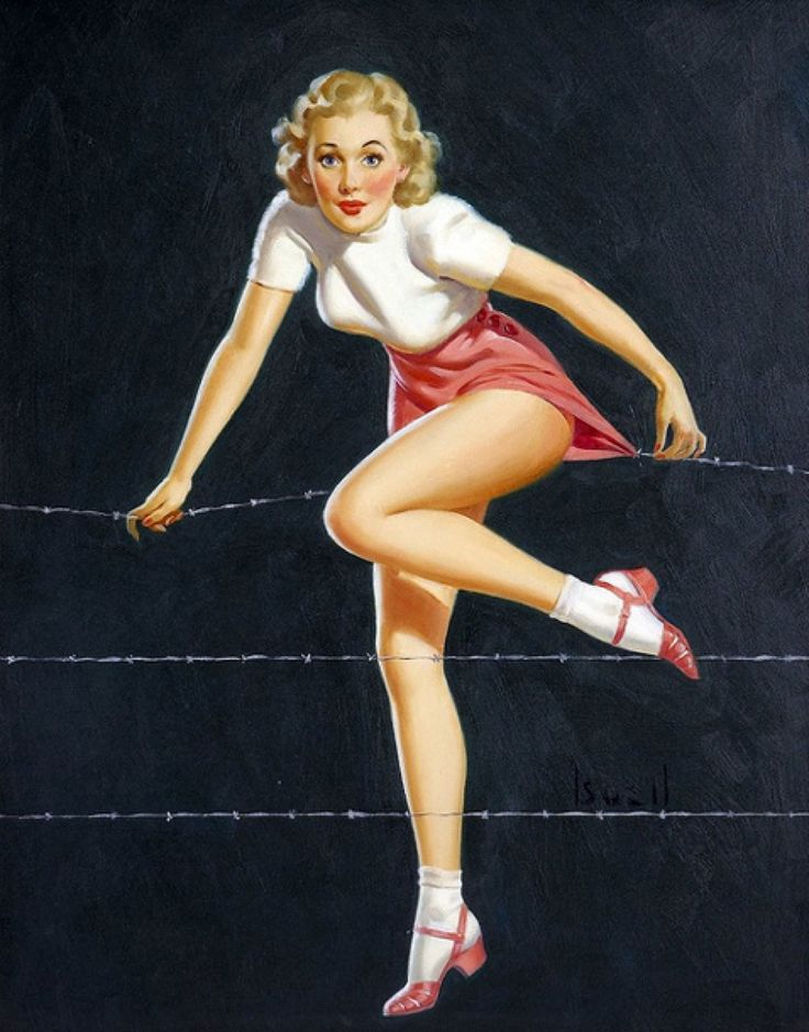 Alfred Leslie Buell Pinup Artist - Pearl Davies Media 1
