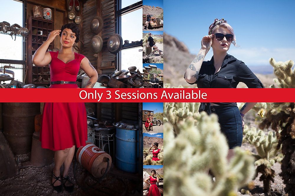 Pearl Davies Vintage Pin Up and Boudoir Photography | Viva Las Vegas Rockabilly Festival Photography Session 2019