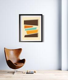 70's Swag Series Print: Block Stack