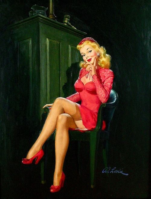Alfred Leslie Buell Pinup Artist - Pearl Davies Media 5