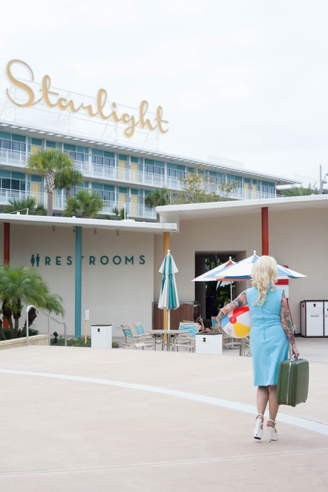 Ria von Strudel Pinup at Cabana Bay Beach Resort © Pearl Davies Vintage Pinup and Boudoir Photography Newcastle NSW Australia