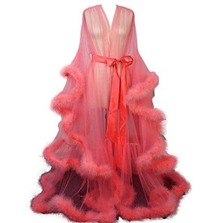 Pearl Davies Client Wardrobe: Custom Gown in Peach Long